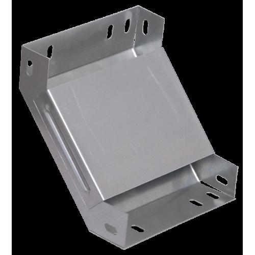 Поворот на 90 гр. вертикальный внутренний 100х200 CLP1V-100-200