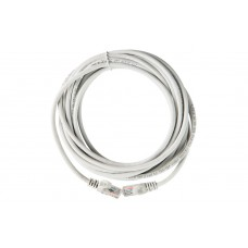 ITK Коммутационный шнур (патч-корд), кат.5Е UTP, LSZH, 10м, серый PC01-C5EUL-10M
