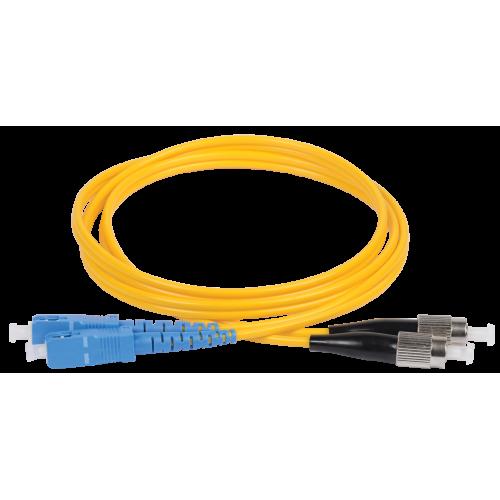 ITK Оптический (патч-корд), SM, 9/125 (OS2), SC/UPC-SC/UPC,(Duplex),1м FPC09-SCU-SCU-C2L-1M