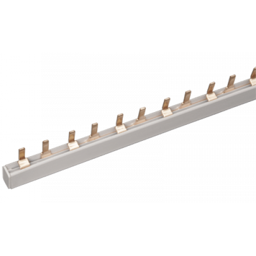 Шина соединительная PIN 2Р 100А шаг 27 мм (дл. 1м) ИЭК YNS51-2-100