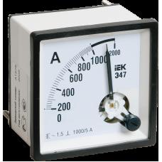Амперметр Э47 200/5А кл. точн. 1,5 72х72мм IPA10-6-0200-E