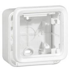 Legrand Plexo Arctic Антибактериальный Монтажная коробка 1-ая для наружного монтажа 70741