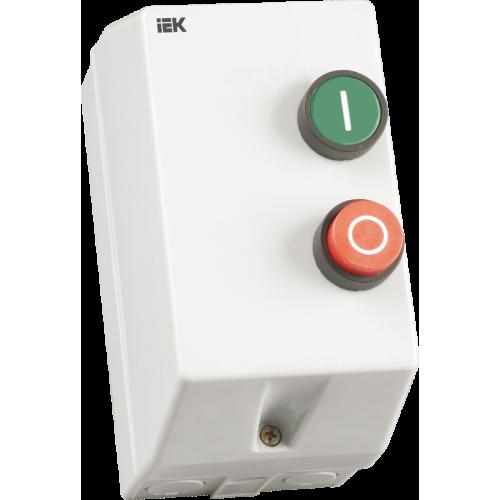 Контактор КМИ11260 12А IP54 с индик. Ue=230В/АС3 ИЭК KKM16-012-I-220-00