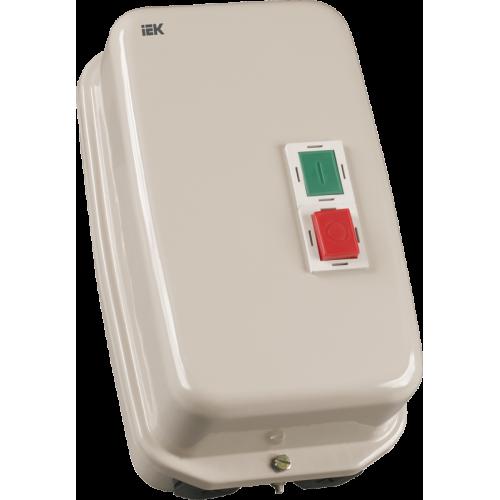 Контактор КМИ48062 80А в оболочке Ue=380В/АС3  IP54 ИЭК KKM46-080-380-00