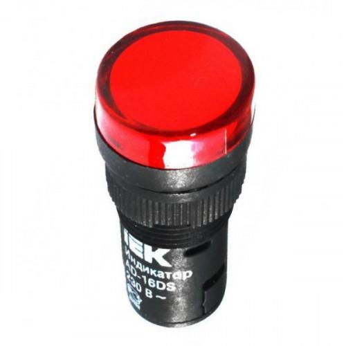 Лампа AD16DS(LED)матрица d16мм красный 24В AC/DC  ИЭК BLS10-ADDS-024-K04-16