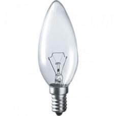 Лампа накаливания C35 свеча прозр. 60Вт E14 IEK LN-C35-60-E14-CL