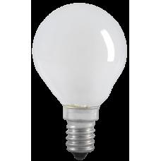 Лампа накаливания G45 шар матов. 60Вт E14 IEK LN-G45-60-E14-FR