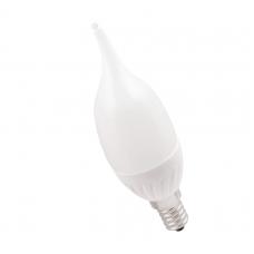 Лампа светодиодная ECO CB35 свеча на ветру 5Вт 230В 3000К E14 IEK LLE-CB35-5-230-30-E14