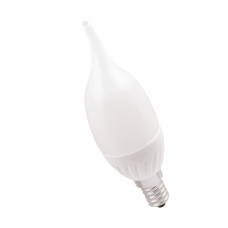 Лампа светодиодная ECO CB35 свеча на ветру 5Вт 230В 4000К E14 IEK LLE-CB35-5-230-40-E14