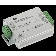 Магистральный усилитель PRO RGB 3 канала 12В, 4А, 144Вт IEK LSA-RGB-144-20-12-PRO