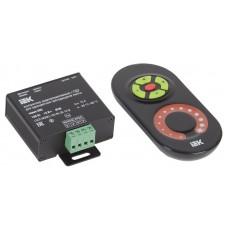 Контроллер с ПДУ радио (черный) MONO 1 канал 12В, 10А, 120Вт IEK-eco LSC2-MONO-120-RF-20-12-B