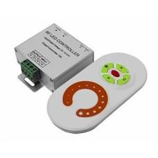 Контроллер с ПДУ радио (белый) MONO 1 канал 12В, 10А, 120Вт IEK-eco LSC2-MONO-120-RF-20-12-W