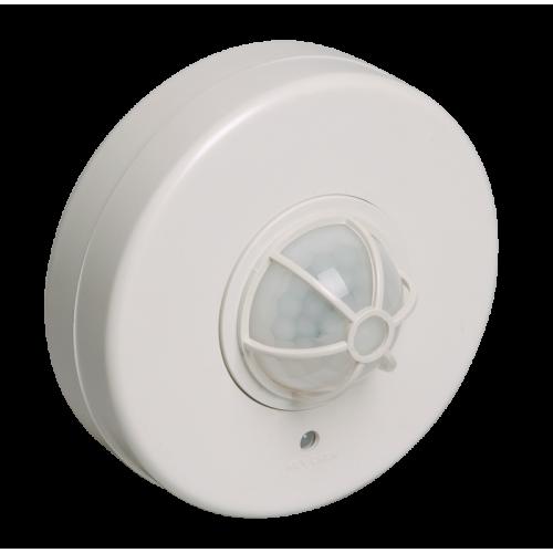Датчик движения ДД 024В белый, макс. нагрузка 1100Вт, угол обзора 180-360гр, дальность 6м, IP33, ИЭК LDD11-024B-1100-001
