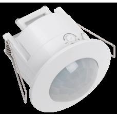Датчик движения ДД 201 белый, 1200Вт, 360 гр.,6М,IP20,IEK LDD11-201-1200-001