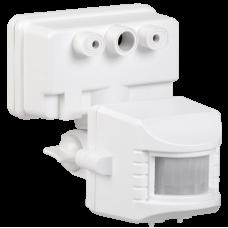 Датчик движения ДД 017 белый, макс. нагрузка 1100Вт, угол обзора 120град., дальность 12м, IP44, ИЭК LDD13-017-1100-001