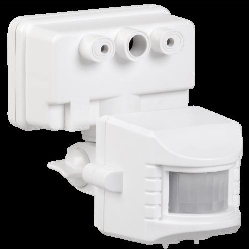 Датчик движения ДД 019 белый, макс. нагрузка 1100Вт, угол обзора 120град., дальность 12м, IP44, ИЭК LDD13-019-1100-001