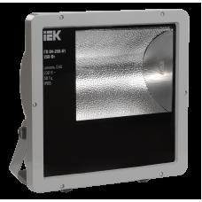 Прожектор ГО04-400-02 400Вт E40 серый асимметричный IP65 ИЭК LPHO04-400-02-K03