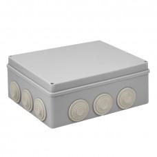 Коробка распаячная КМР-050-043 пылевлагозащитная, 12 мембранных вводов, уплотнительный шнур (240х190х90) EKF PROxima plc-kmr-050-043