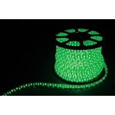 Дюралайт  LED 3WAY 50м квадр. 11х17мм 230V 72LED/м 2,88Вт/м, (2м/отрез), 2 аксесс., зеленый/ LED-F3W 26069