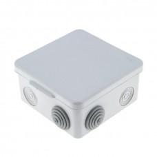 Коробка распаячная  КМР-030-031 с крышкой наружная (80х80х50) 7 мембранных вводов IP54 EKF PROxima plc-kmr-030-031