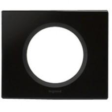 Legrand Celiane Черное стекло Рамка 1ая 069301