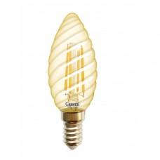 Лампа светодиодная GLDEN-CTS-7-230-E14-2700 Золотая 649989