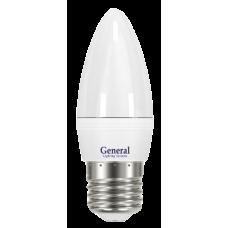 Лампа светодиодная GLDEN-CF-7-230-E27-4500 650100
