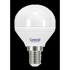 Лампа светодиодная GLDEN-G45F-7-230-E14-2700 640600