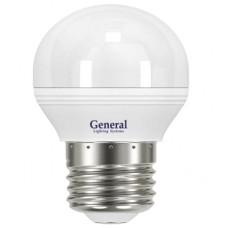 Лампа светодиодная GLDEN-G45F-8-230-E14-4500 641000