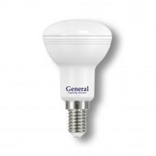 Лампа светодиодная GLDEN-R50-7-230-E14-2700 1/10/100 648500