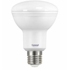 Лампа светодиодная GLDEN-R80-10-230-E27-4500 628500