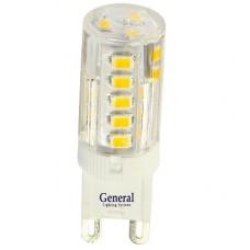 Лампа светодиодная GLDEN-G9-7-P-220-2700 5/100/500 654000