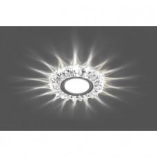 Светильник CD916 15LED*2835 SMD 4000K, MR16 50W G5.3, прозрачный, хром 28988