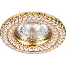 Светильник DL6034 MR16 50W G5.3 золото 28953