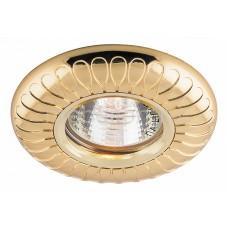 Светильник DL6047 MR16 50W G5.3 золото 28959