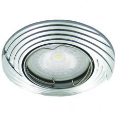 Светильник DL6227 MR16 50W G5.3 хром поворотный 28966