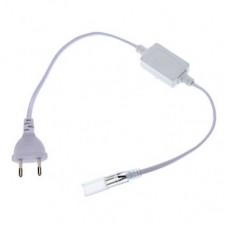 Шнур питания с вилкой G-5050-P-IP20 уп. по 1шт (для ленты 5050 и 5730) 5215