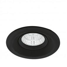 61549 Светодиодный встраиваемый СПОТ TALVERA P, 1Х6W(LED), 900lm, 3000K, ЧЕРНЫЙ матовый 61549