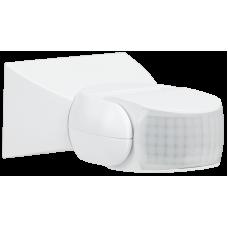 Датчик движения ДД 013 белый 1200Вт 180гр 12м IP65 IEK LDD10-013-1100-001