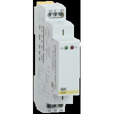 Импульсное реле ORM. 2 конт. 12-240 В AC/DC IEK ORM-02-ACDC12-240V