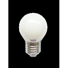 Лампа светодиодная GLDEN-G45S-M-8-230-E27-4500 654600