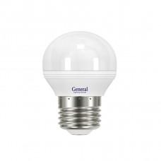 Лампа светодиодная GLDEN-G45F-8-230-E27-6500 640200