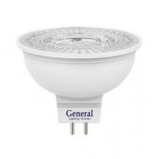 Лампа светодиодная GLDEN-MR16-7-230-GU5.3-4500 643500