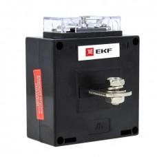Трансформатор тока ТТЭ-А-75/5А класс точности 0,5 EKF PROxima tte-a-75