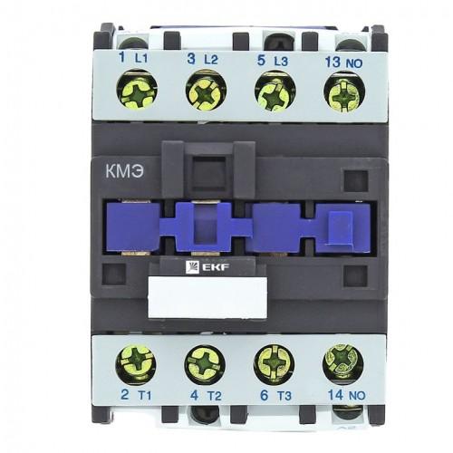 Контактор КМЭ малогабаритный 32А 400В 1NC EKF Basic ctr-s-32-400-nc-basic