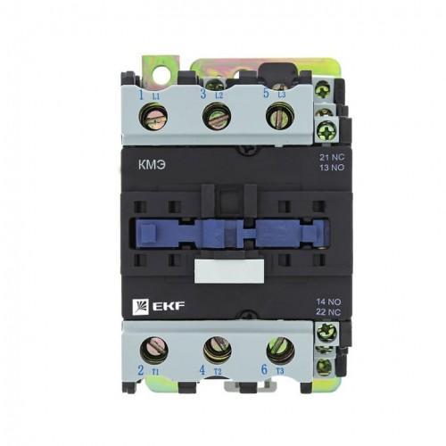 Контактор КМЭ малогабаритный 50А 400В 1NO 1NC EKF Basic ctr-s-50-400-basic
