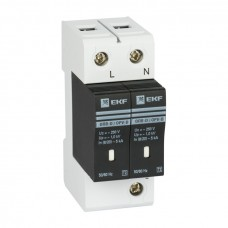 Ограничитель импульсных напряжений ОПВ-B/2P In 30кА 400В с сигн. EKF PROxima opv-b2