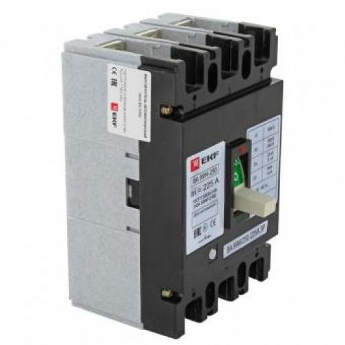 Автоматический выключатель ВА-99МL 250/225А 3P 20кА EKF mccb99-250-225mI