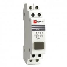 Кнопка модульная КМ-47 (серая) EKF PROxima mdb-47-grey-pro