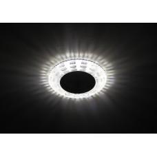 DK LD8 SL/WH Светильник ЭРА декор cо светодиодной подсветкой MR16, прозрачный Б0028083